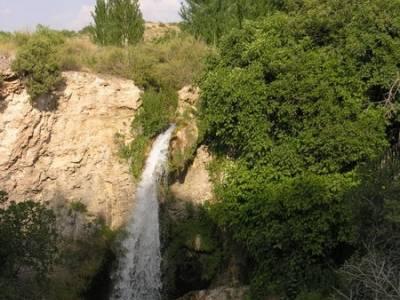 Hundimiento en Hundimiento en Lagunas de Ruidera; hoces del duraton